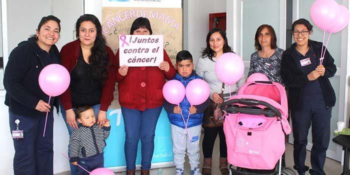 Salud Machalí junto a ti contra el cáncer de mamas