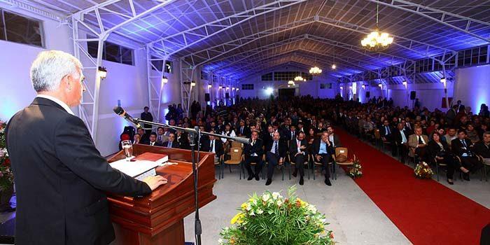 Se inaugura primera Catedral Evangélica de la Sexta Región