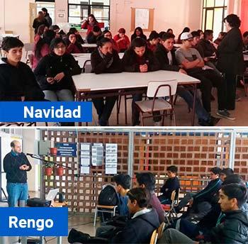 Universidad de OHiggins llega a Rengo Santa Cruz y Navidad con Mil científicos mil aulas