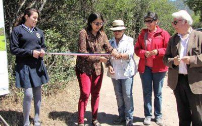 Proyecto ganador de Fondo de Protección Ambiental fue inaugurado en Chimbarongo