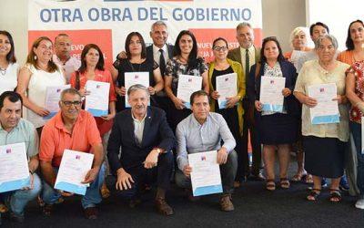 225 familias de Rancagua contarán con aislamiento térmico