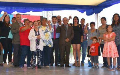 60 familias de Peralillo pasarán año nuevo en sus viviendas propias
