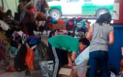 Carabineros del retén Malloa entrega ropa y calzado a niños y padres de escasos recursos