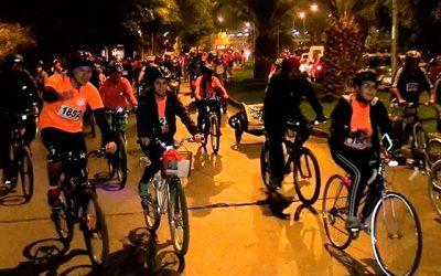 Cicletada nocturna familiar llega este mes a Rancagua