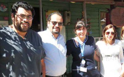 Director(s) de Salud OHiggins recorre hospitales de la Región