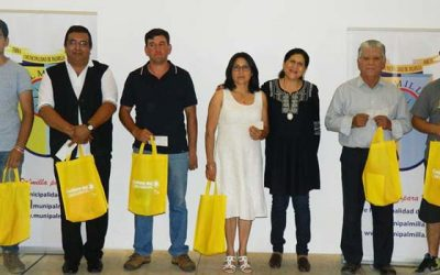 Entregan segunda cuota de subvenciones municipales a organizaciones de Palmilla
