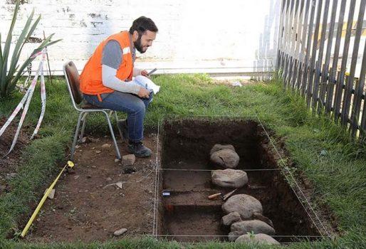 Hallan elementos arqueológicos en dependencias del gobierno regional