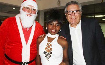 Inmigrantes comparten cena de navidad con alcalde de Rancagua
