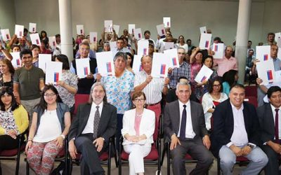 Ministra Nivia Palma entrega títulos de dominio a vecinos de Colchagua