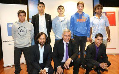 Premian a los mejores deportistas de la Sexta Región del 2016