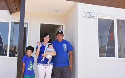 298 nuevas viviendas son entregadas en Rancagua