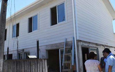 Alegría en vecinos de Población Ramón Sanfurgo por remodelación de sus viviendas