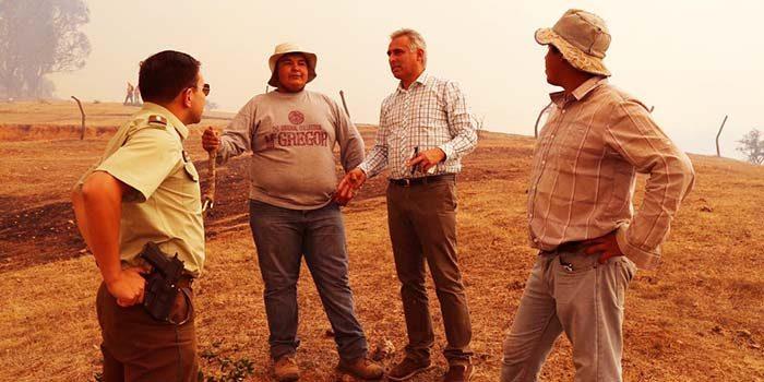 Autoridades regionales disponen medidas para combatir incendios forestales