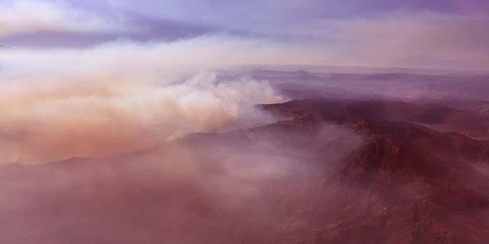 Autoridades se refieren a situación de incendios forestales en la Región