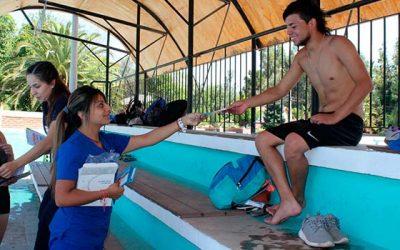 Campaña Machalí te quiere sano estuvo presente junto a los bañistas de la comuna