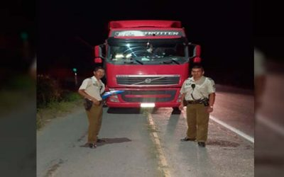 Carabineros En Peumo recuperan vehículo robado en Talagante