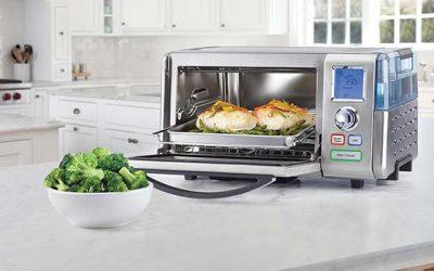 Cuisinart lanza el primer horno eléctrico del mercado que cocina al horno y al vapor
