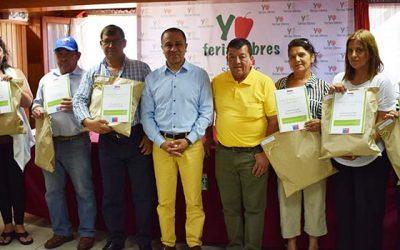 Finaliza primera etapa del Fondo de Desarrollo de Ferias Libres en Machalí y Navidad