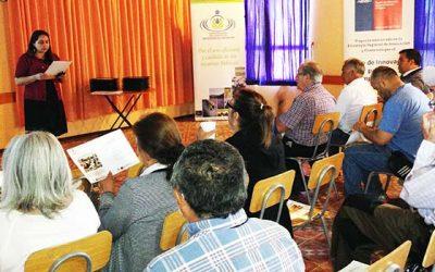 Finaliza proyecto de capacitación para regantes de la Región