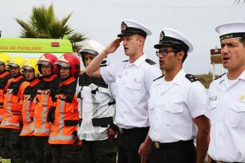 Funcionarios policiales y marinos llegaran a reforzar la labor en prevención y seguridad durante este verano