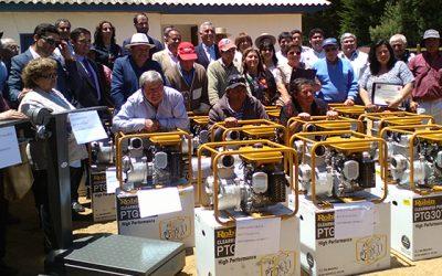 Gobierno entrega recursos a salineros de Pichilemu y Paredones