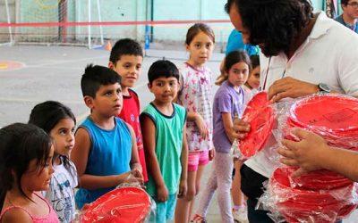 IND inspecciona adecuaciones para resguardar la salud de niños beneficiarios