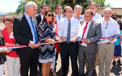 Inauguran importantes obras en la Sexta Región