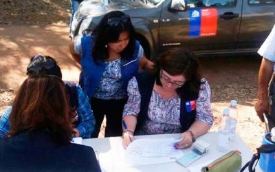 Las urgencias y la coordinación de la ayuda humanitaria como primera medida en Marchigue