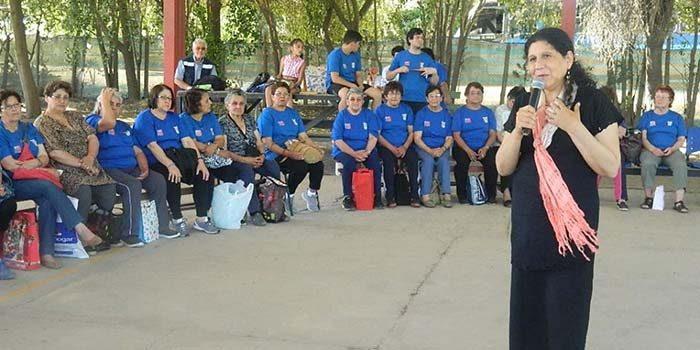 Más de 400 adultos mayores de palmilla disfrutaran entretenido programa de verano