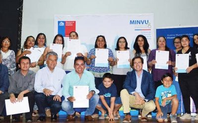 Masiva entrega de subsidios de Vivienda en San Vicente y Rengo
