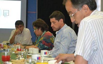 Mesa CFT regional establece la creación de comisiones y subcomisiones