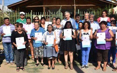 Minvu entrega subsidios para que 90 familias amplíen o mejoren sus viviendas