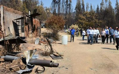 Minvu gestiona soluciones habitacionales para damnificados en Región de OHiggins