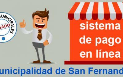 Municipalidad de San Fernando llama a utilizar sistema de pago en línea