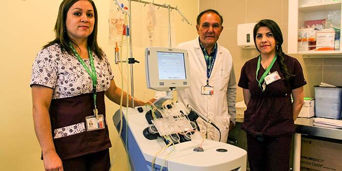 Nueva tecnología para unidad de Medicina Transfusional para el Hospital Regional