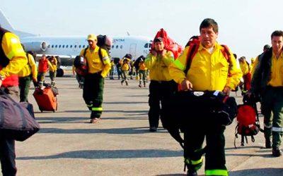 Refuerzo internacional para el combate de incendios forestales comienza a materializarse