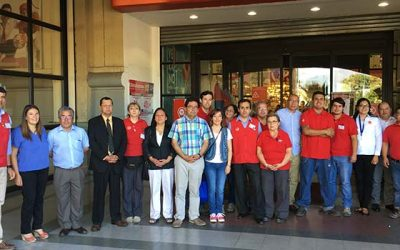 Sence certifica primer curso de becas laborales 2016 junto a Sindicato de Easy Rancagua