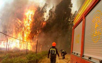 Situacion de transporte y telecomunicaciones por incendios forestales