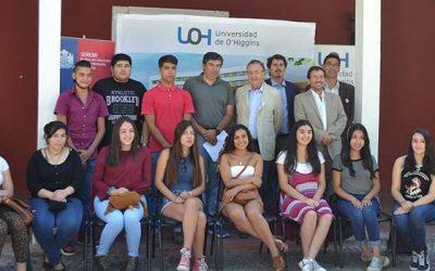 Alumnos con gratuidad de la UOH visitan por primera vez dependencias universitarias