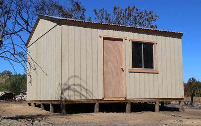Autoridades constatan en terreno instalación de viviendas de emergencia en Navidad