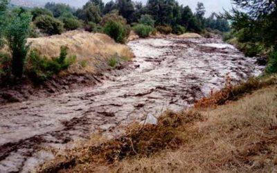 Autoridades hacen llamado a extremar precauciones por lluvias precordilleranas