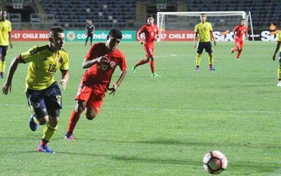 Estrechos resultados marcaron la segunda fecha del Sudamericano Sub 17 Chile 2017