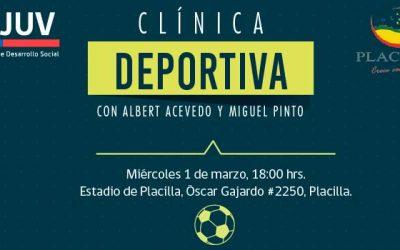 Futbolistas del club OHiggins realizarán clínica deportiva en Placilla