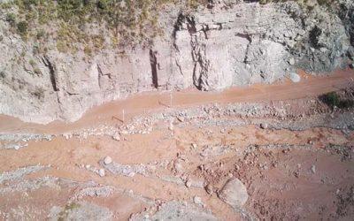 MOP evalúa daños por aluviones y trabaja en despeje de Ruta I-45