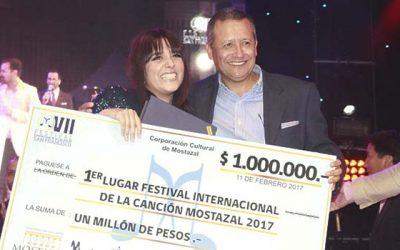 Mostazal se emociona con festival internacional