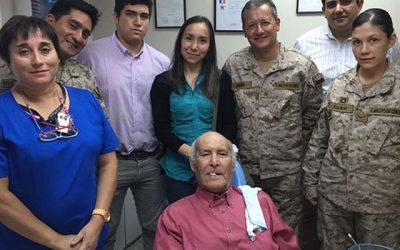Municipio de Mostazal y ejército de aviación rancaguino se unen para devolver una sonrisa