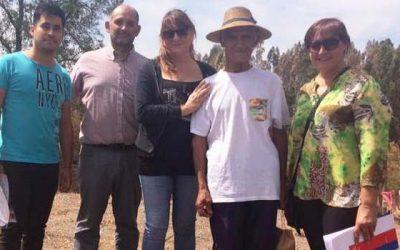 Senama OHiggins visita a adultos mayores damnificados por los incendios forestales