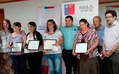 104 soñadores de OHiggins se convierten en emprendedores gracias a programa semilla del Fosis