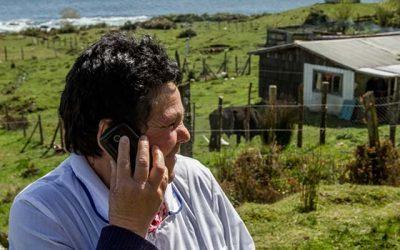 29 localidades aisladas de la Región de OHiggins obtienen conectividad telefónica