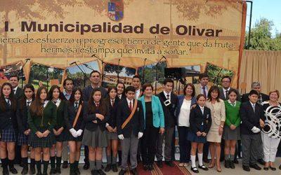 Alcaldesa de Olivar anuncia creación de liceo técnico profesional en Gultro